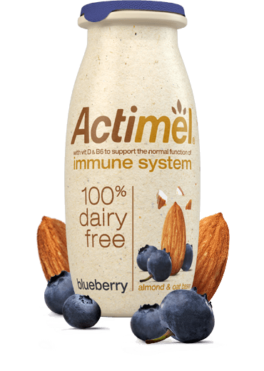 Actimel 100% Dairy free Blueberry