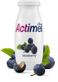 Actimel Blueberry Cultured Yogurt Shot