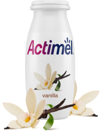 Actimel Vanilla Cultured Yogurt Shot